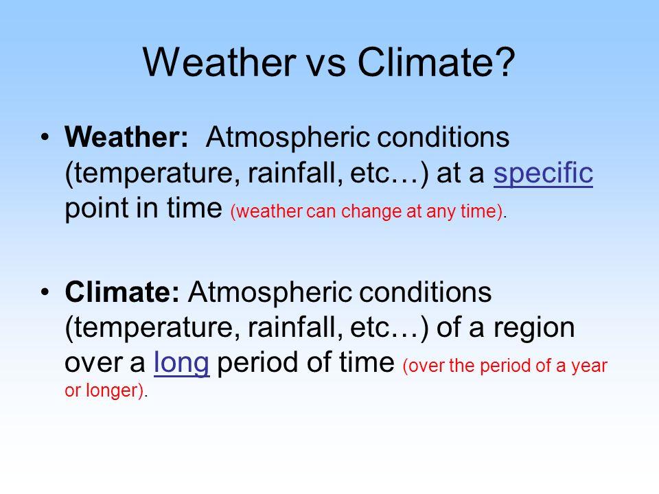 Climate vs. Weather Quiz by BigBrainofScience | Teachers Pay Teachers