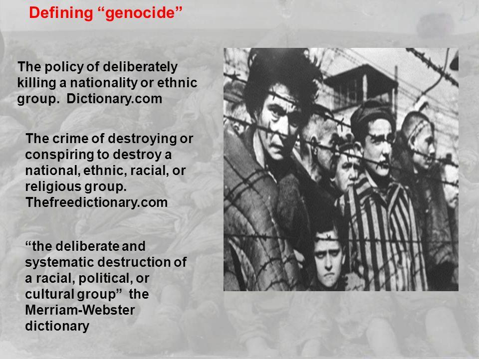 mun redefining genocide