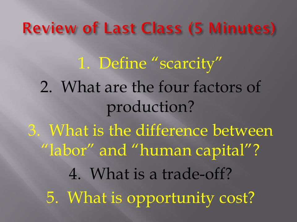 1 define production what are the factors