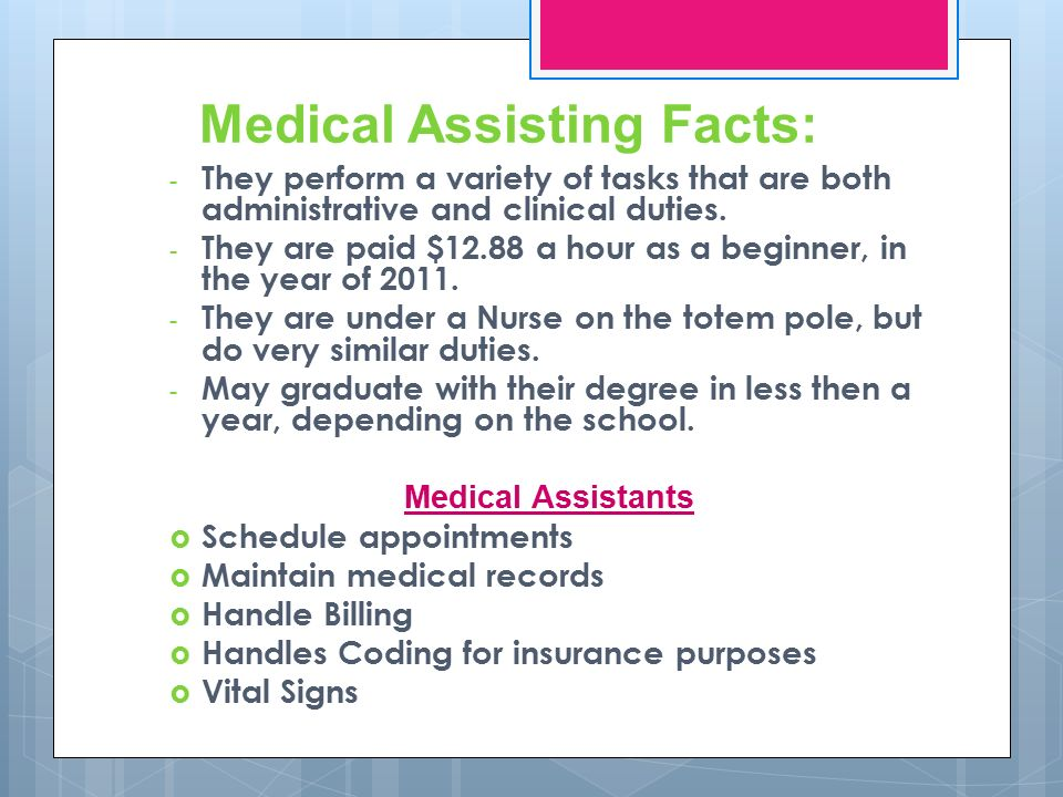 Medical Assisting Vs. Nursing Which Career is better? - ppt download