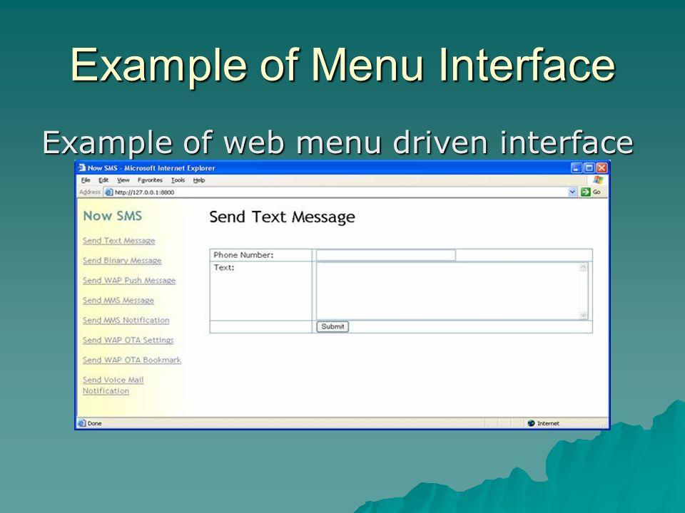 Teach-ICT AS Level ICT OCR exam board - user interface