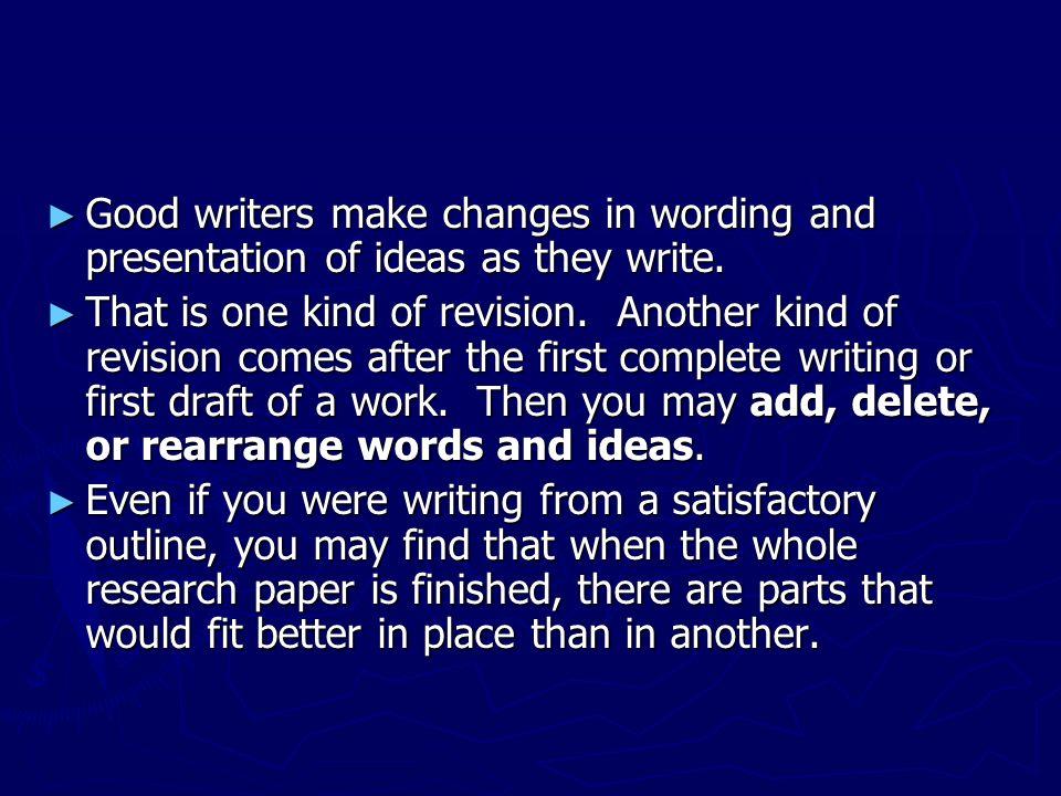 essayist makes