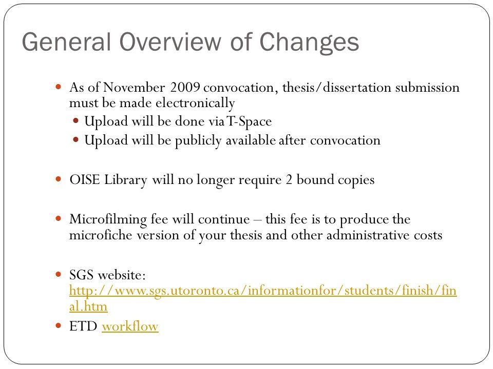 overview dissertation proposal