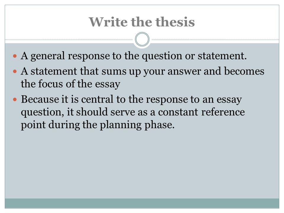 define critical response essay Writing effective summary and response essays the summary: a summary is a concise paraphrase of all the main ideas in an essay it cites the author and the title.