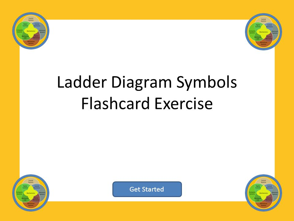 Ladder diagram symbols flashcard exercise get started ppt download 1 ladder diagram symbols flashcard exercise get started ccuart Gallery