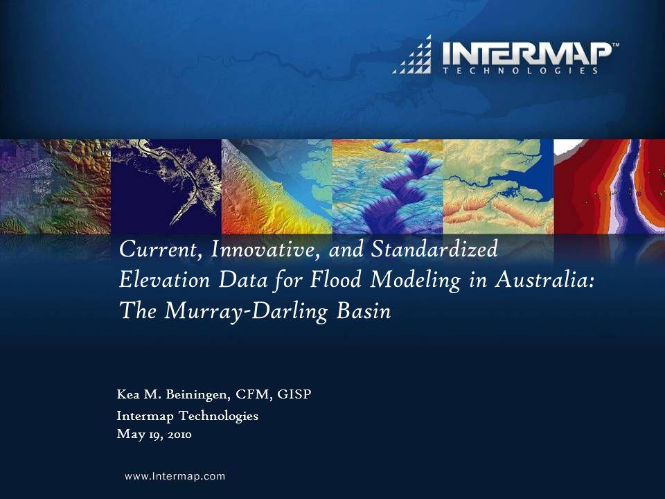 Current Innovative And Standardized Elevation Data For Flood - Australia elevation data
