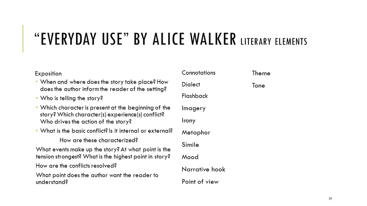 analyzing the welcome table by alice walker essay 2 analysis of the welcome table by alic e walker alice walker, the author of the welcome table, shows her literary talent in this short story about an old woman's last day on ea rth.
