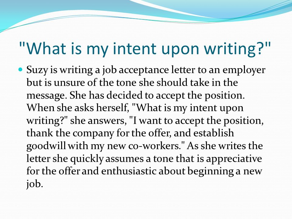 Writing Business Letters Purpose of business correspondence