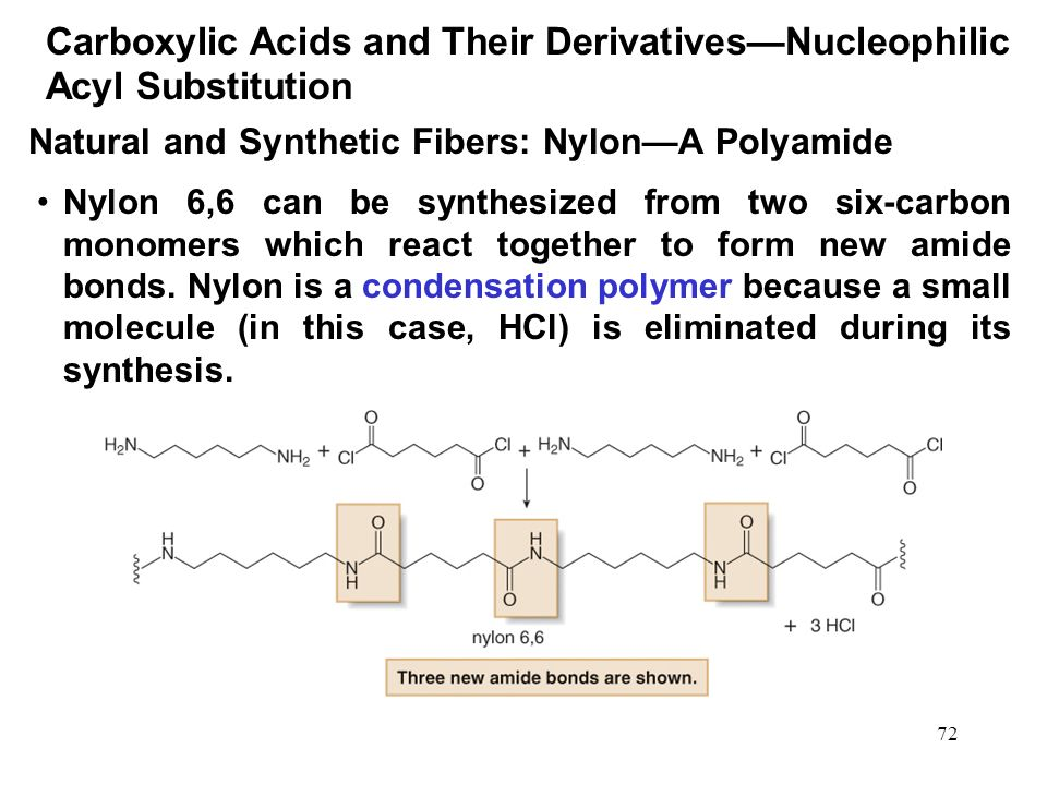 Reactions Nylon Nylon Fibers 109