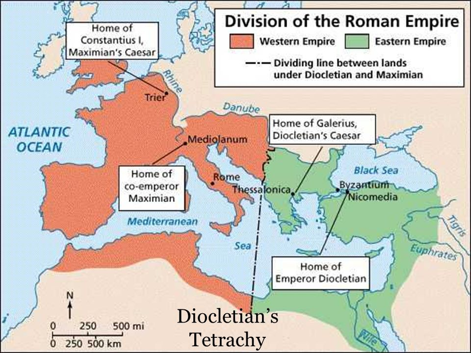 the roman empire saw many changes through constantine Roman empire: how many eastern roman emperors, from constantine to constantine palaiologos, actually visited rome many rulers in constantinople saw.