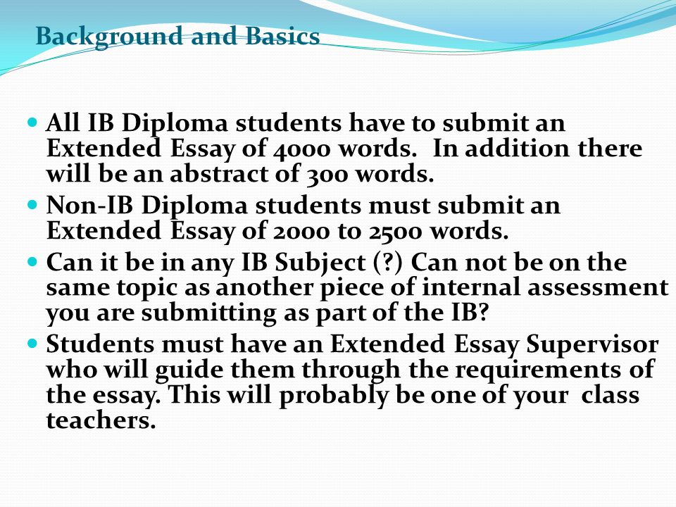 good extended essay abstracts To good out a search within a single ib extended essay abstract guidelines pdf doc, you can first open the ib extended essay abstract guidelines pdf doc and purchaser on on the black binoculars icon.