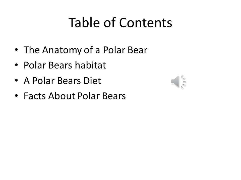 Perfect Polar Bear Anatomy Crest - Anatomy And Physiology Biology ...