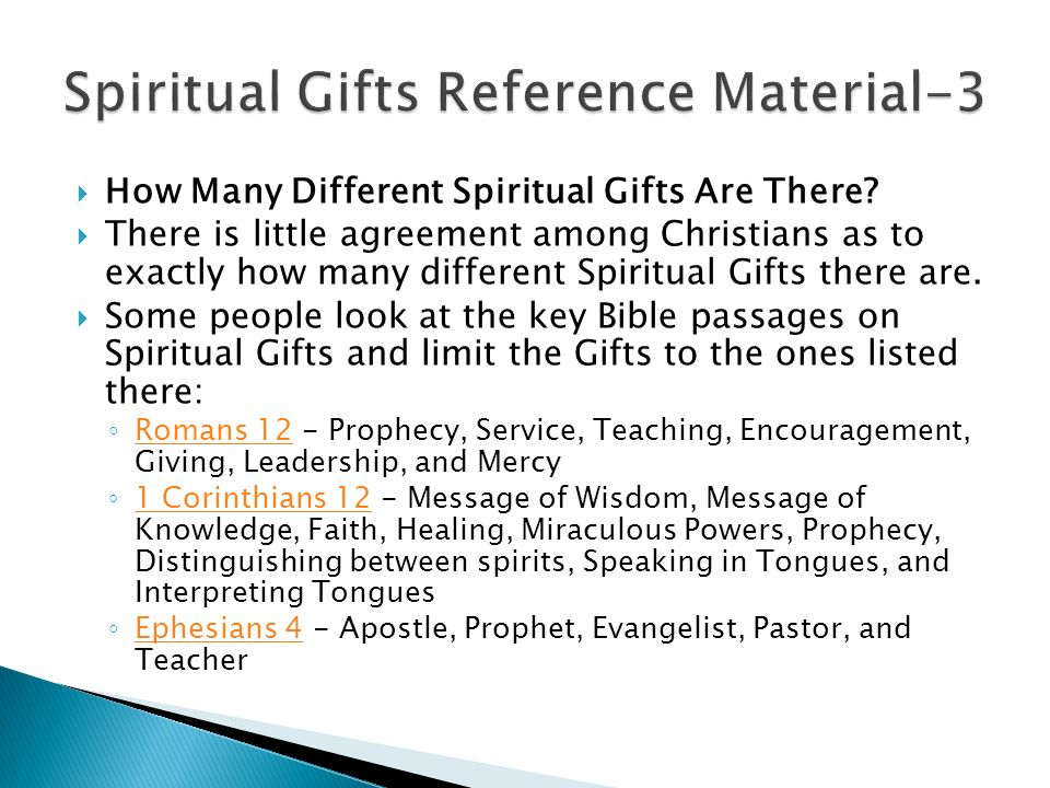 Spiritual gifts survey 1 peter 2 9 but you are a chosen race a how many different spiritual gifts are there negle Choice Image