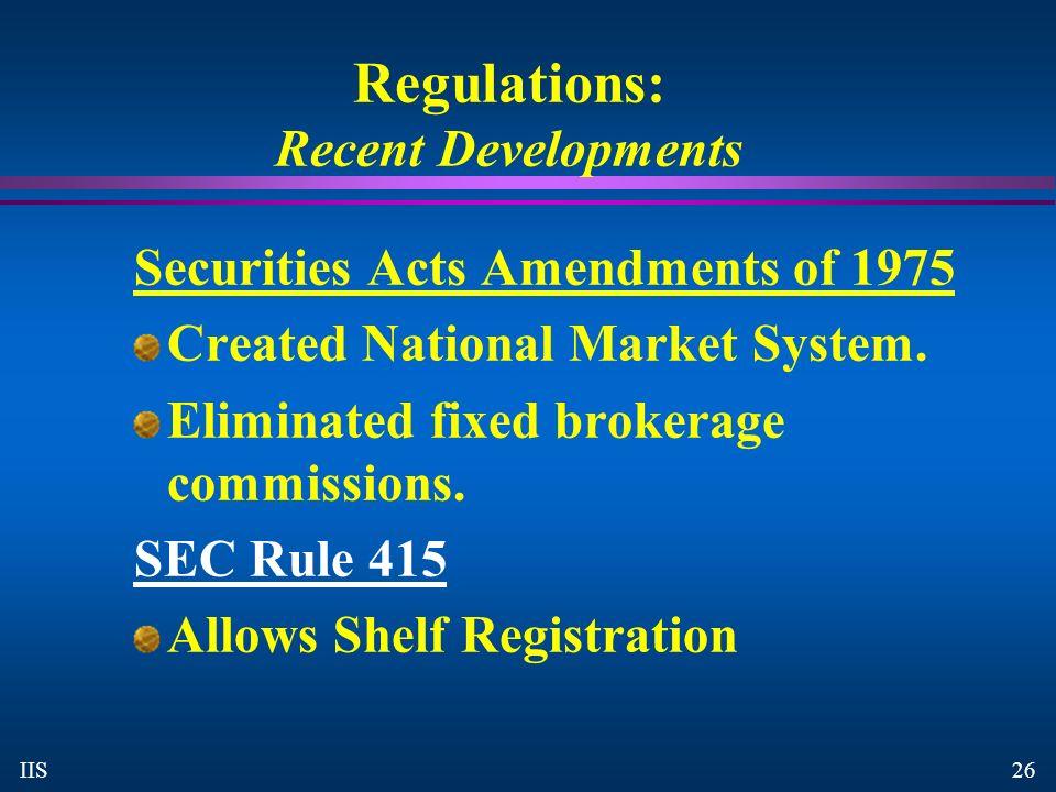sec regulations