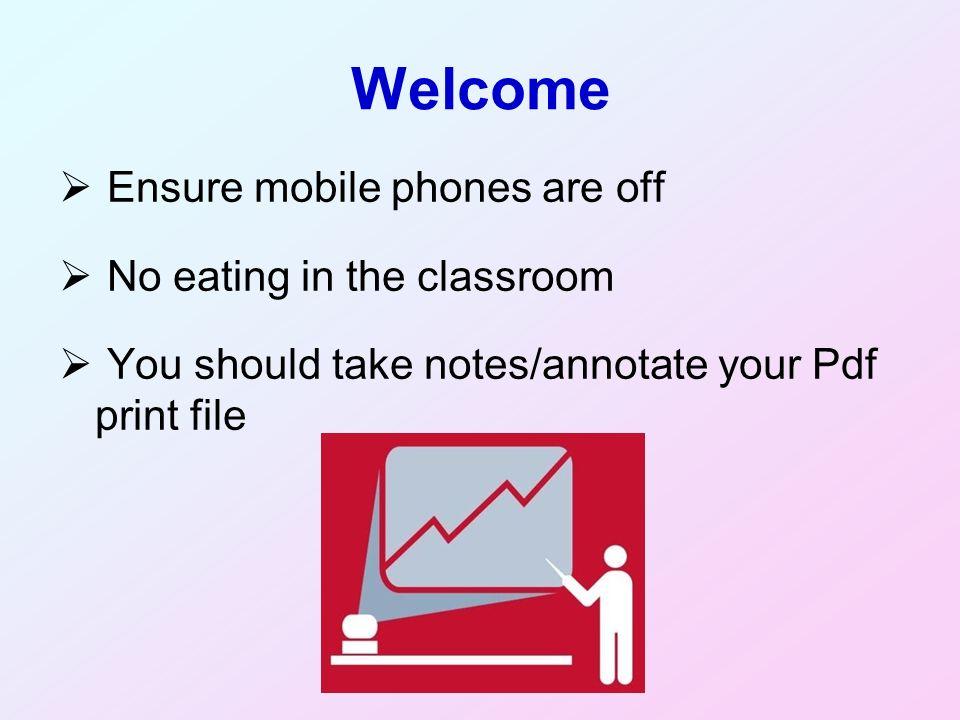 Precis presentation