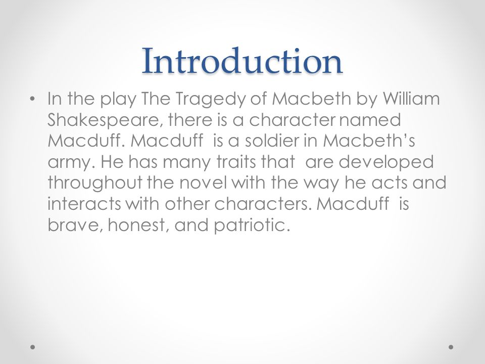 character trait essay prompt prompt analysis of a literary  introduction in the play the tragedy of macbeth by william shakespeare there is a character