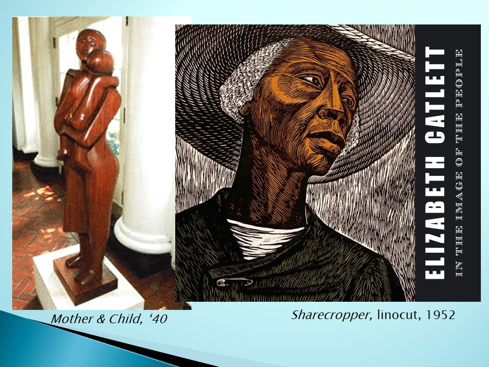 Sharecropper By Elizabeth Catlett Is An Example Of Choice Image