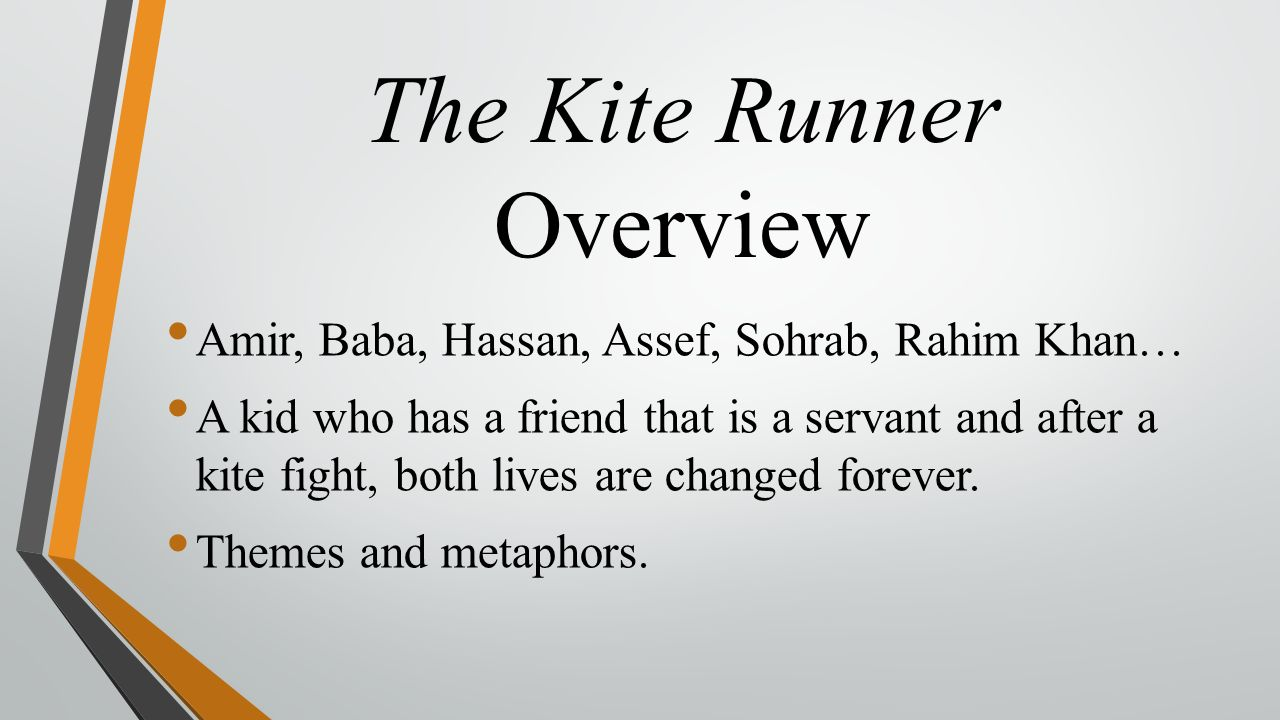 how to literature like a professor presentations cassie 6 the kite runner