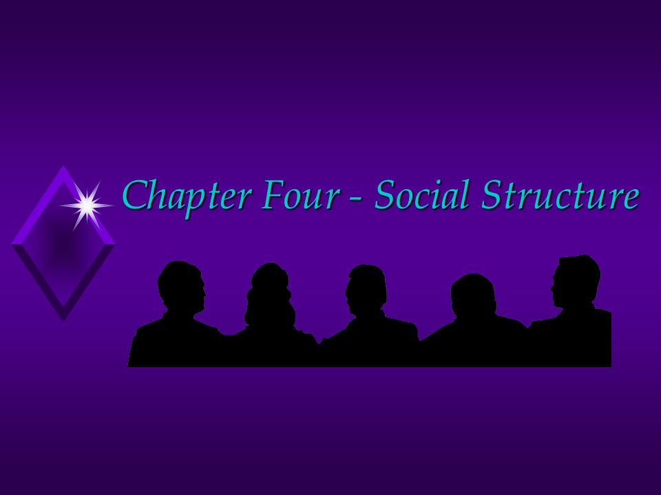Chapter Four - Social Structure