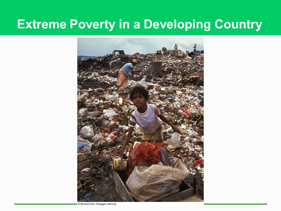 Extreme Poverty in a Developing Country