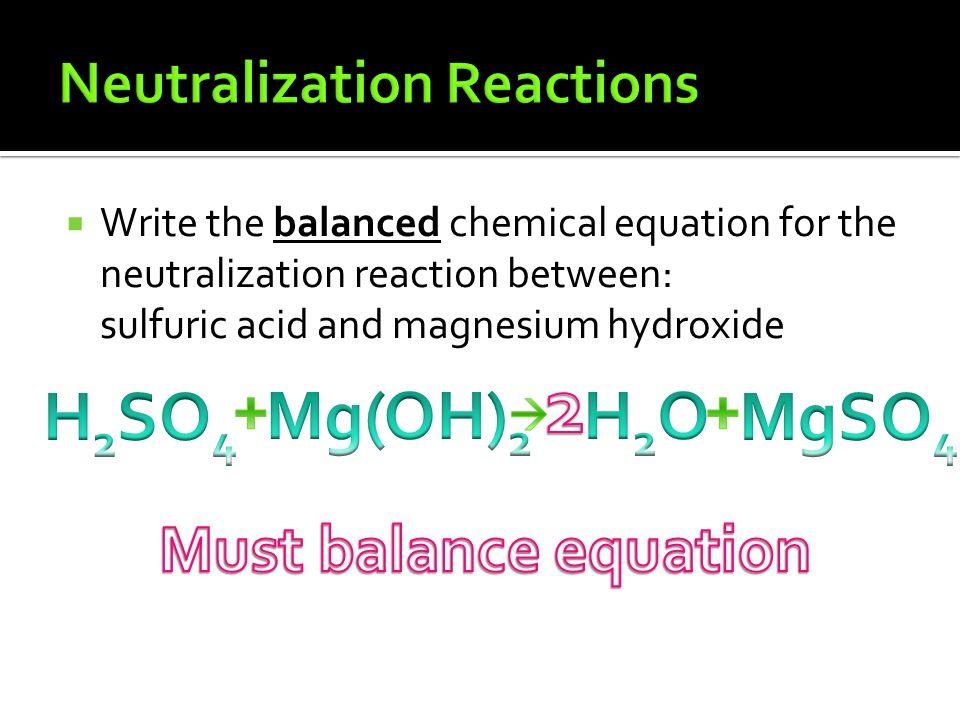 sulfuric acid formula