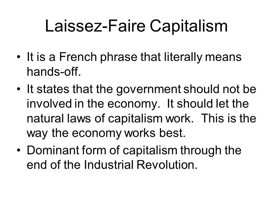 Adam Smith Development of Laissez-Faire Capitalism. - ppt download