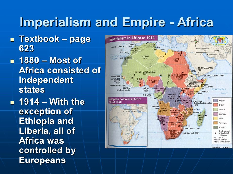 geography s influence on imperialism Imperialism impacted the african continent in several ways, primarily in the contexts of economics and politics the political impact of the western nations displays in the administrative system of.