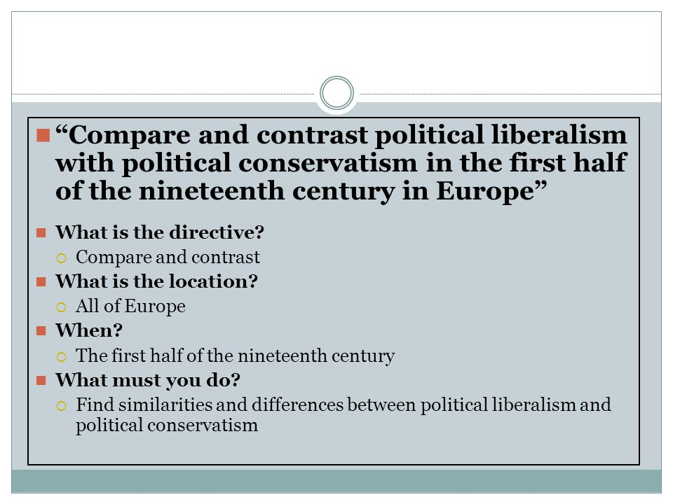 differences and similarities of liberalism
