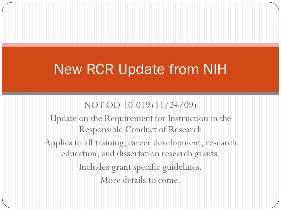 nih dissertation research For more information on the types of grants listed below, please refer to the nih office of extramural research types of grant programs.
