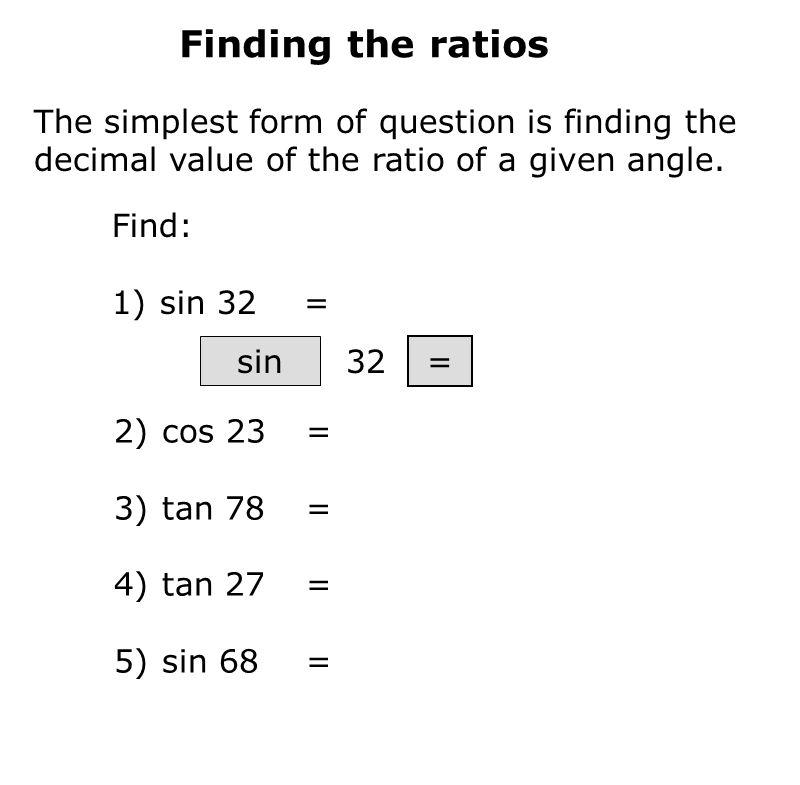 Get a calculator!. Trigonometry Trigonometry is concerned with the ...