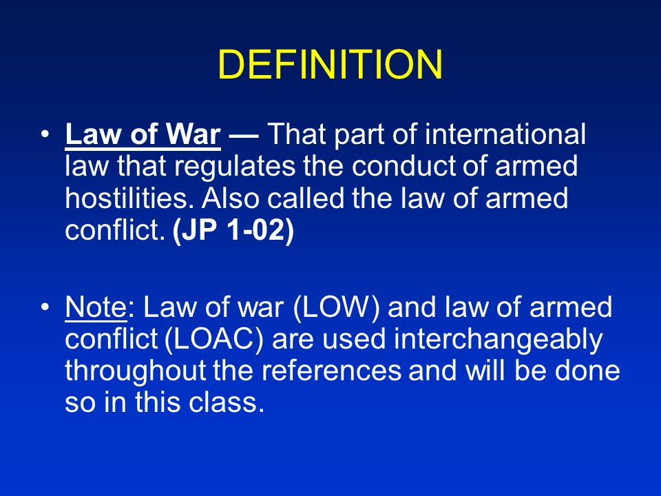 an analysis of the war laws the rules governing the conduct of armed conflict Wars of law in wars of law the unintended consequences of the proliferation of the laws of war for the commencement, conduct  in the regulation of armed.