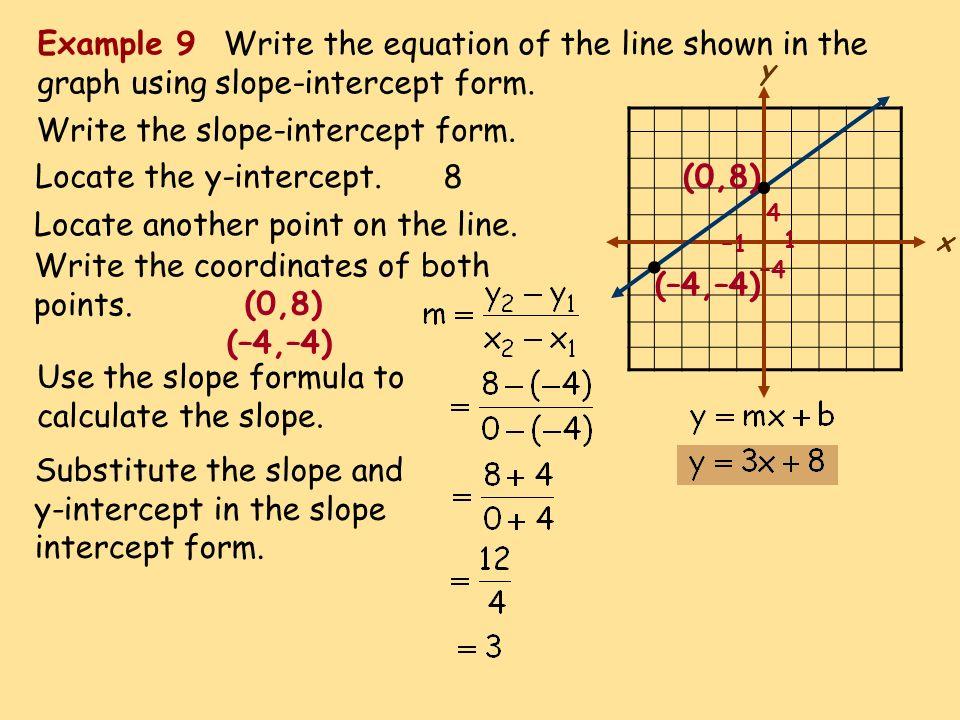 Write An Equation In Slope Intercept Form Calculator Custom Paper