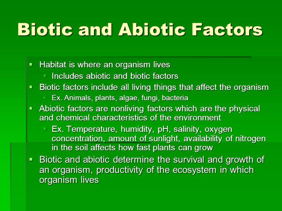 Desert Biotic and Abiotic Factors  Studycom