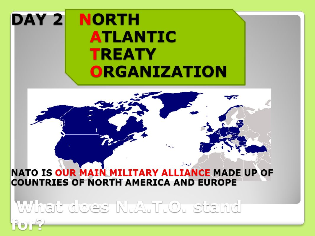 the evolution of the north atlantic treaty organization nato in addressing future challenges North atlantic treaty organization signing of the north atlantic treaty on union was a significant step in addressing the nonkinetic aspects of.