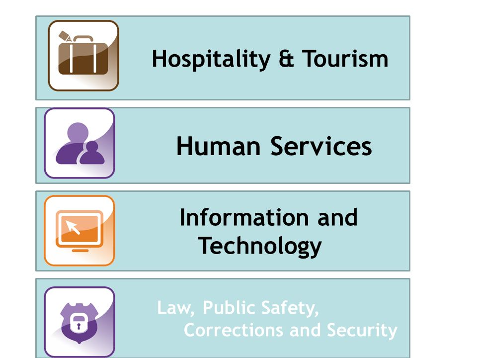 Human Services Information and Technology Law, Public Safety, Corrections and Security Hospitality & Tourism