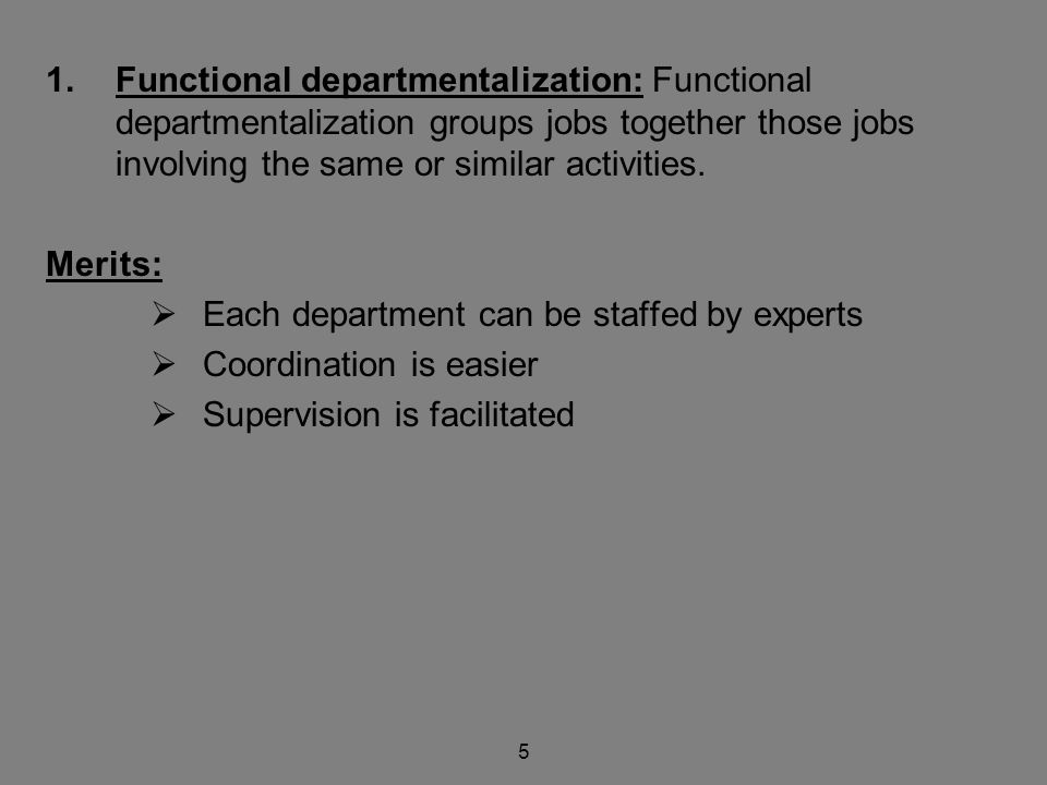 Organization with Wide Spans Advantages:  Superiors are forced to delegate  Clear policies must be made  Subordinate must be carefully selected