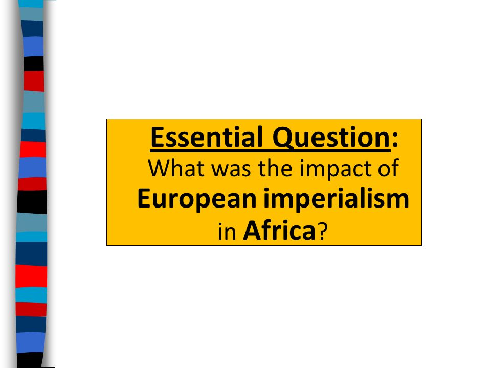 1800s European imperialism question.?