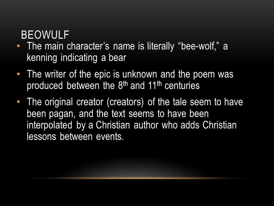 """differences between the epic beowulf and Beowulf: tenuous relationship between movie and """"suddenly the two halves of the beowulf epic google is blocking the world socialist web site from search."""