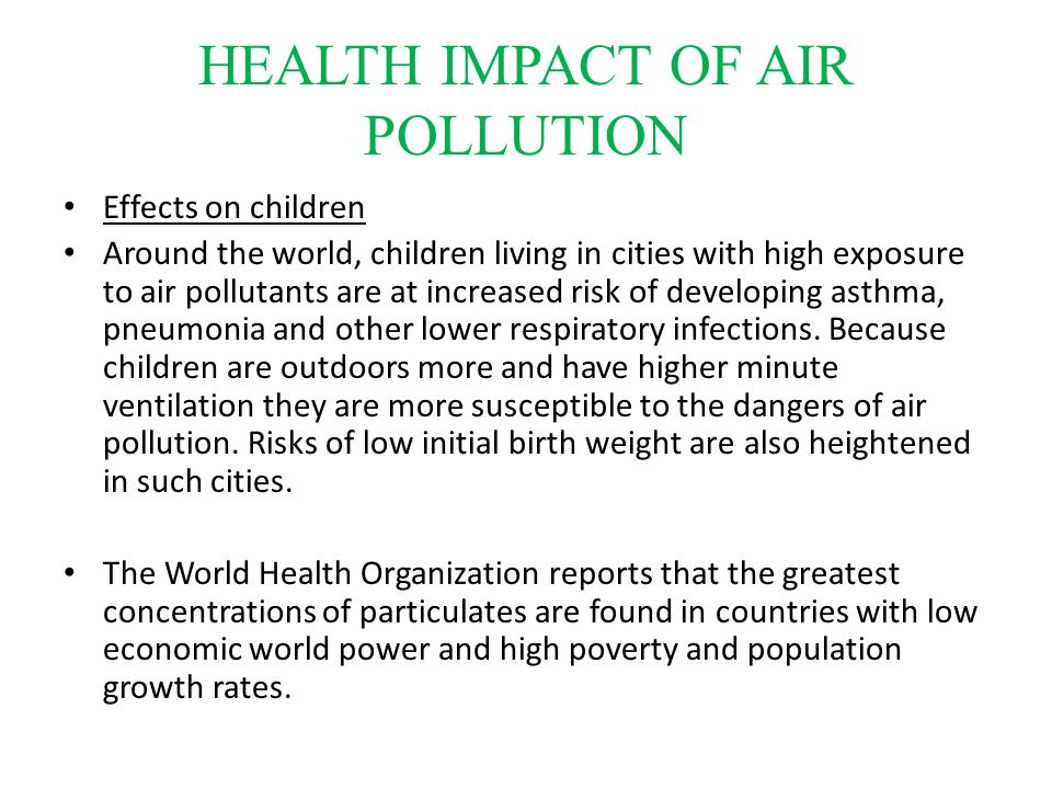 economic impact of pollution on health Diesel cess to fund study on pollution's impact on health on areas such as the health impact of air pollution and on possible steps on economic times.