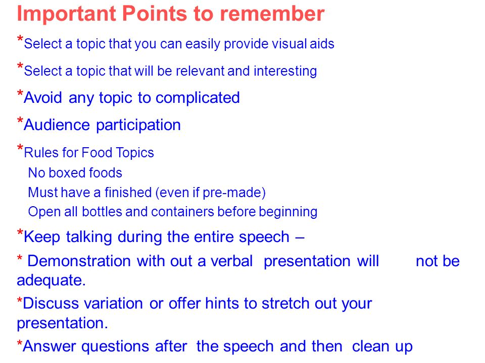 interesting topics for speech in college 100 + demonstration speech topics: choose a college now you've chosen your demonstration speech topic find out more about how good demonstration speeches are.
