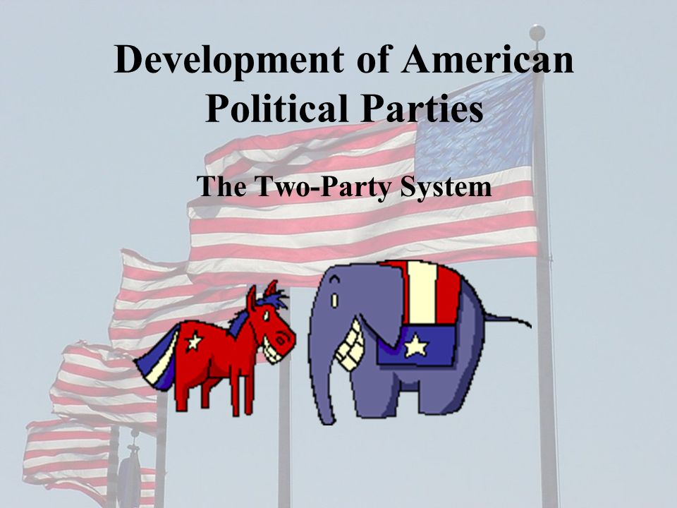 monday obj swbat understand what a political 2 development of american political parties the two party system