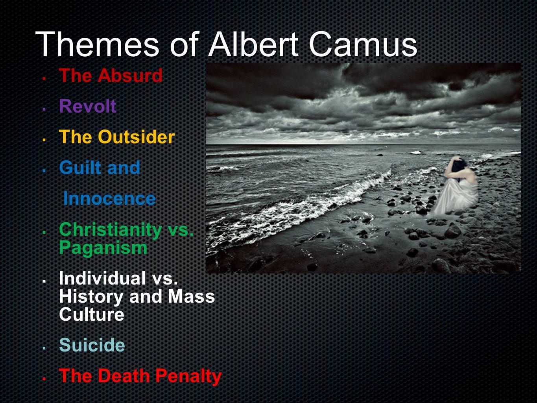 albert camus existentialism essay