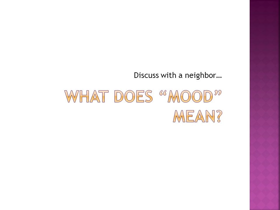 Discuss with a neighbor…