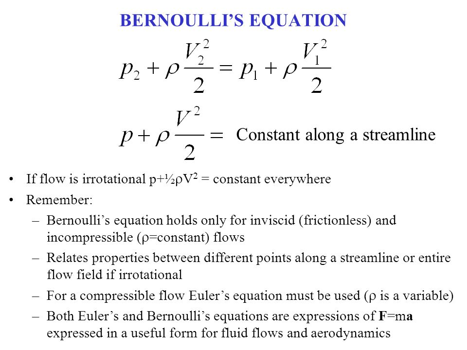 a description of the flow through a sluice gate which can be reasonably modeled using the bernoulli  Large eddy simulations of double-ruler electromagnetic field effect on gate, the sen with argon gas injection rate using a model, based on bernoulli's.