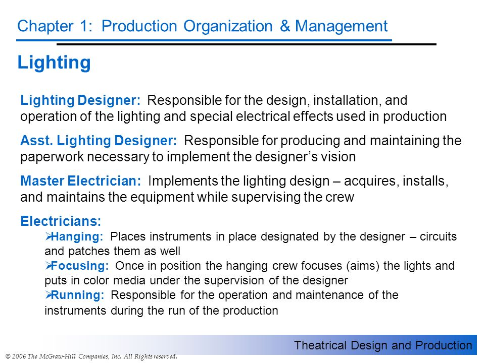 operations and production management chapter 1 View notes - chapter one notes from business mgt2320 at algonquin college operations management chapter 1: operations and productivity what is operations management.