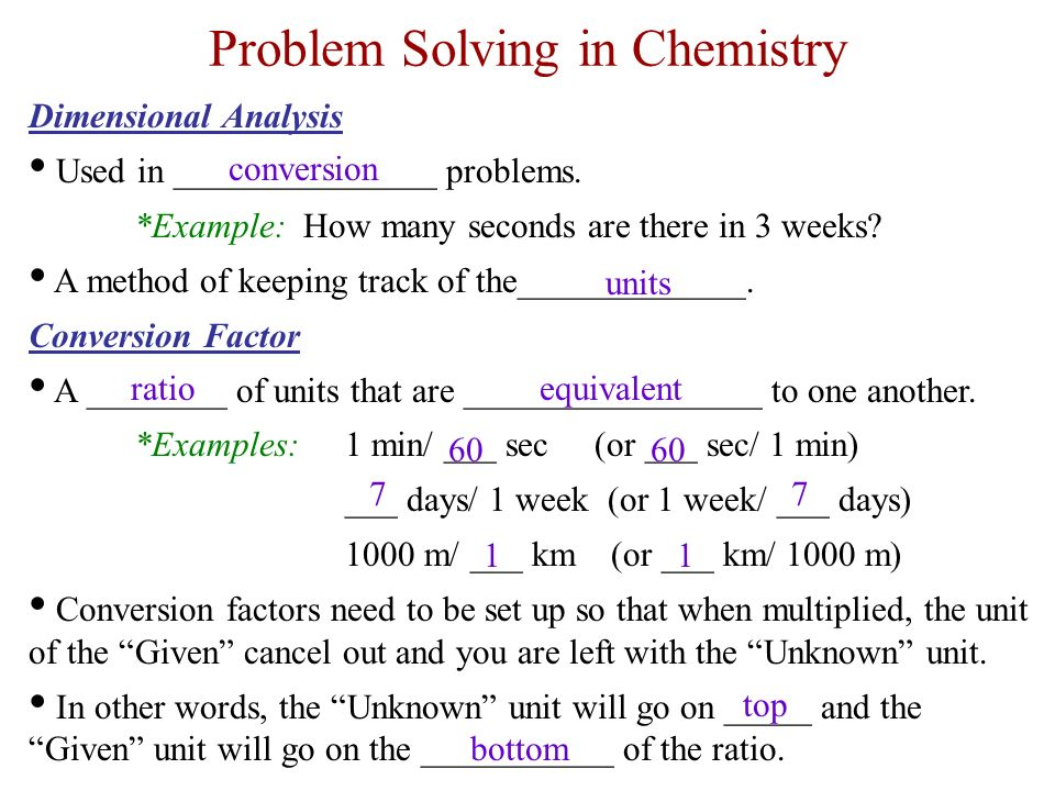 solving dimensional analysis problems for chemistry dimensional solving dimensional analysis problems unit conversion problems easy