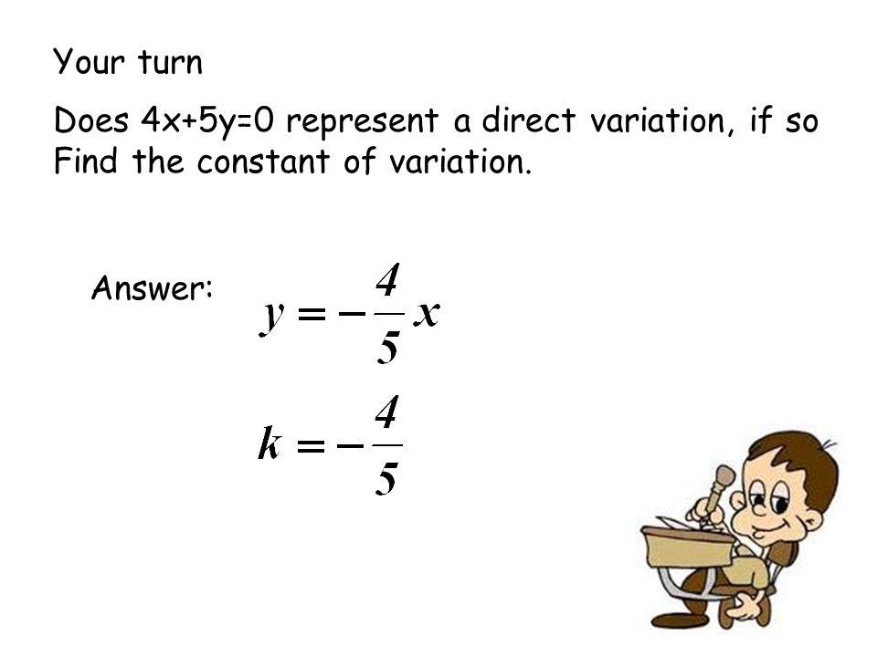 Algebra 1 direct variation worksheet answers