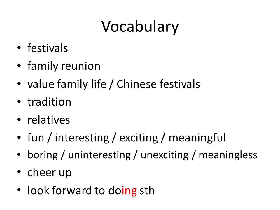 Interesting vocabulary?