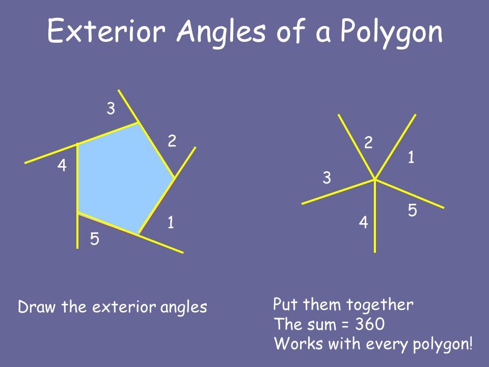 Lesson 51 Polygon Angle Sum Formulas Lessons Tes Teach
