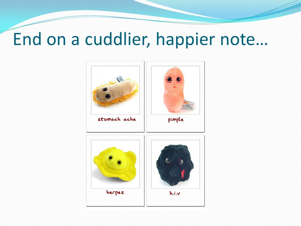 End on a cuddlier, happier note…
